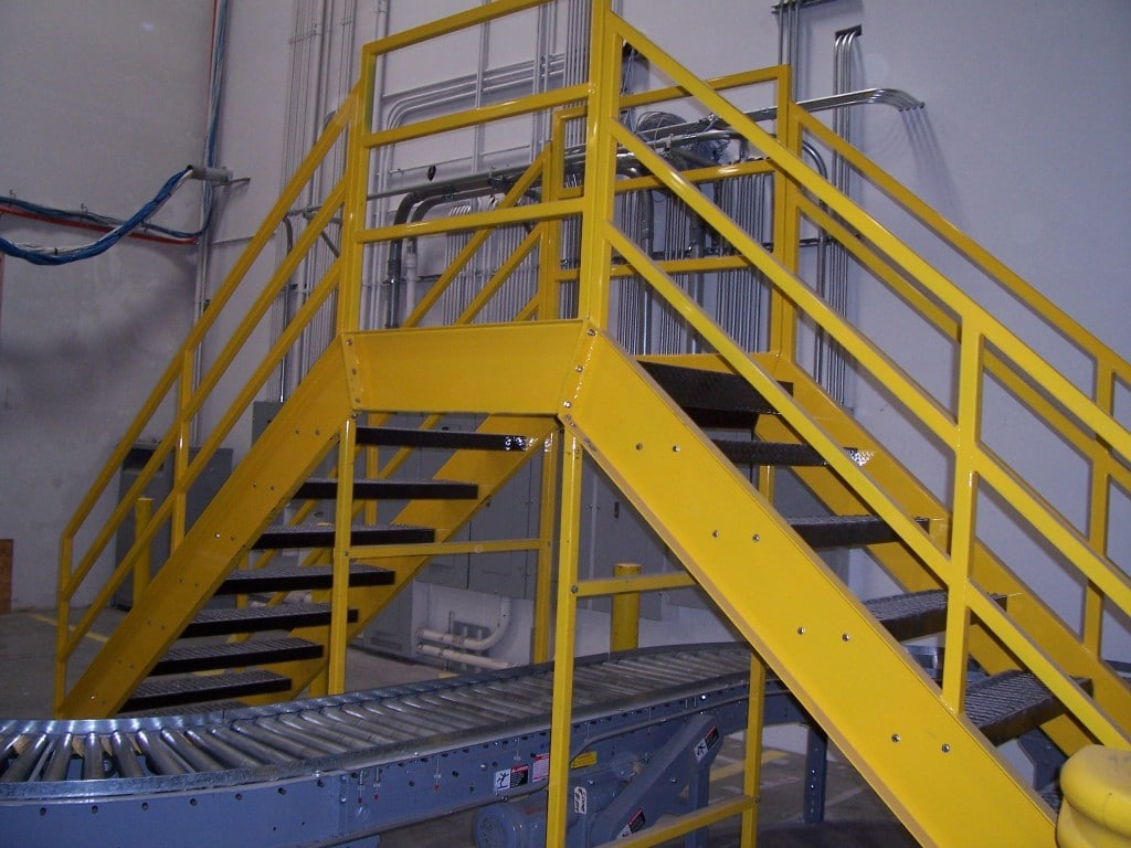 Ingalls Conveyors Inc Cross Over Stairs